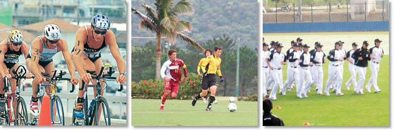 トライアスロンワールドカップ、サッカー、千葉ロッテマリーンズ Triathlon World Cup, Professional Baseball Teams, Professional Soccer Teams
